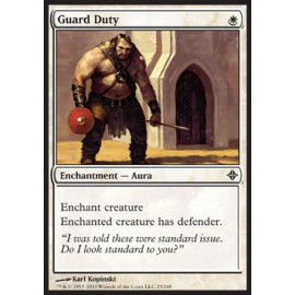 Guard Duty FOIL (Rise of the Eldrazi)
