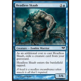 Headless Skaab FOIL (Dark Ascension)