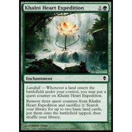 Khalni Heart Expedition (Zendikar) [EX] [CHINSKI]