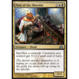 Maw of the Obzedat FOIL (Dragon's Maze)