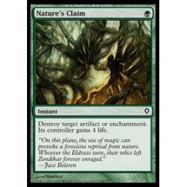 Nature's Claim FOIL (Worldwake) [EX]
