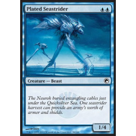 Plated Seastrider FOIL (Scards of Mirrodin)
