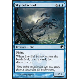 Sky-Eel School FOIL (Scars of Mirrodin)