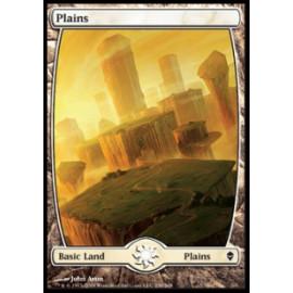 Plains (Zendikar) [FULLART] [EX]