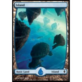 Island 234 (Zendikar) [FULLART] [EX]