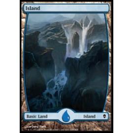 Island 235 (Zendikar) [FULLART] [EX]