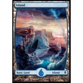 Island 236 (Zendikar) [FULLART]
