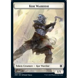 Kor Warrior 1/1 Token 004 - ZNR