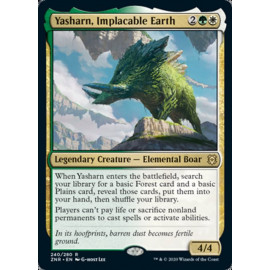 Yasharn, Implacable Earth