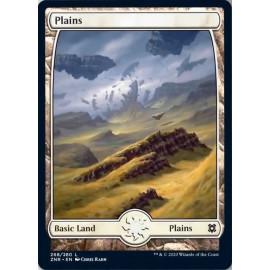 Plains 268 ZNR (FULLART) FOIL
