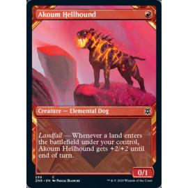 Akoum Hellhound (Showcase) FOIL