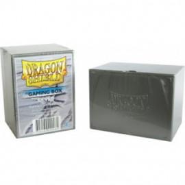 Pudełko Dragon Shield na 100 kart - srebrne