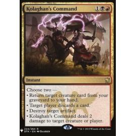 Kolaghan's Command (Mystery Boostery)