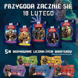 Hero Realms - Pakiet Bohaterowie + Bossowie + mata do gry
