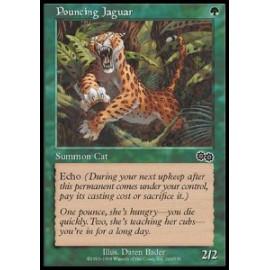 Pouncing Jaguar (Urza's Saga) [LIGHT PLAYED]