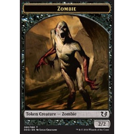 Zombie Token 2/2 (DD: Blessed vs. Cursed)