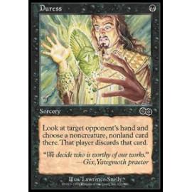 Duress (Urza's Saga) [PLAYED] [SP]