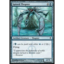 Spined Thopter (New Phyrexia)