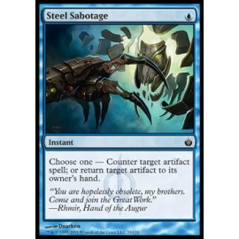 Steel Sabotage (Mirrodin Besieged)