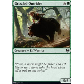 Grizzled Outrider