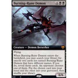 Burning-Rune Demon (Extras)