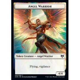 Angel Warrior 4/4 Token 002 - KHM