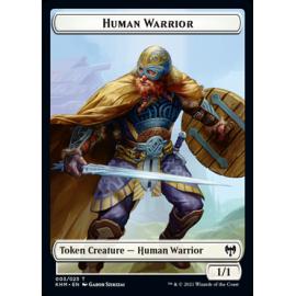 Humar Warrior 1/1 Token 003 - KHM