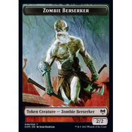 Zombie Berserker 2/2 Token 009 - KHM
