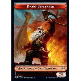 Dwarf Berserker 2/1 Token 012 - KHM