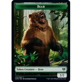 Bear 2/2 Token 013 - KHM