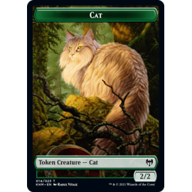 Cat 2/2 Token 014 - KHM