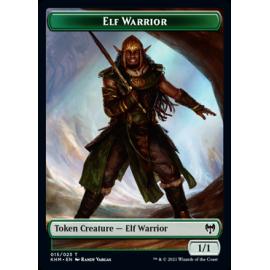 Elf Warrior 1/1 Token 015 - KHM