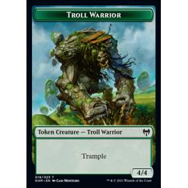 Troll Warrior 4/4 Token 016 - KHM