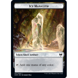 Icy Manalith Token 017 - KHM