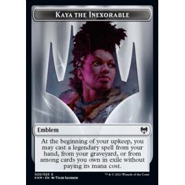 Kaya the Inexorale Emblem 020 - KHM