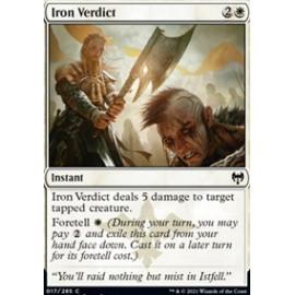 Iron Verdict FOIL