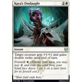Kaya's Onslaught FOIL