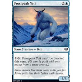 Frostpeak Yeti FOIL