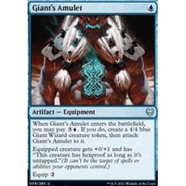 Giant's Amulet FOIL