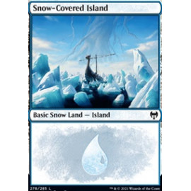 Snow-Covered Island FOIL