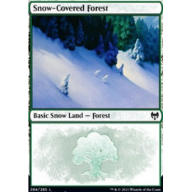 Snow-Covered Forest FOIL