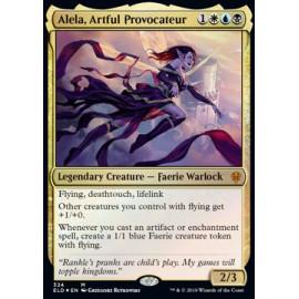 Alela, Artful Provocateur