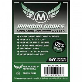 Koszulki Mayday Classic Card Game Premium (63,5x88 mm) - 50 szt.