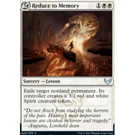 Reduce to Memory