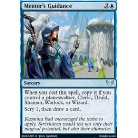 Mentor's Guidance