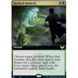 Rushed Rebirth (Extras)