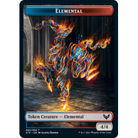 Elemental 4/4 Token 02 - STX