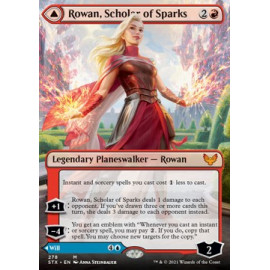 Rowan, Scholar of Sparks // Will, Scholar of Frost (Extras)