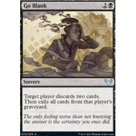 Go Blank FOIL
