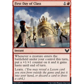 First Day of Class FOIL
